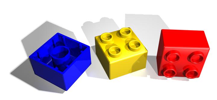 ebricks in verkoop lego